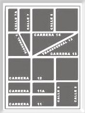 Kolumbienisches Straßensystem