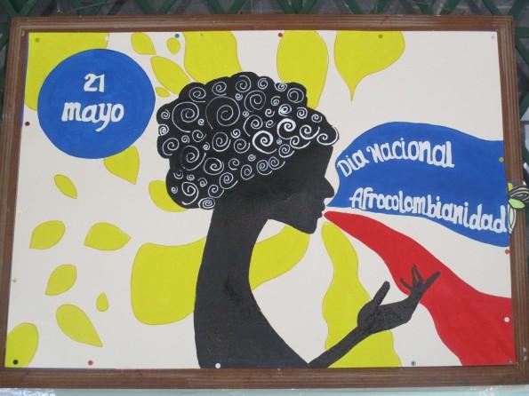 Plakat Afrocolombianidad 2016