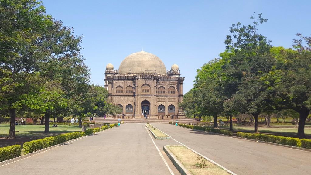 Das Mausoleum in Bijapur 2017
