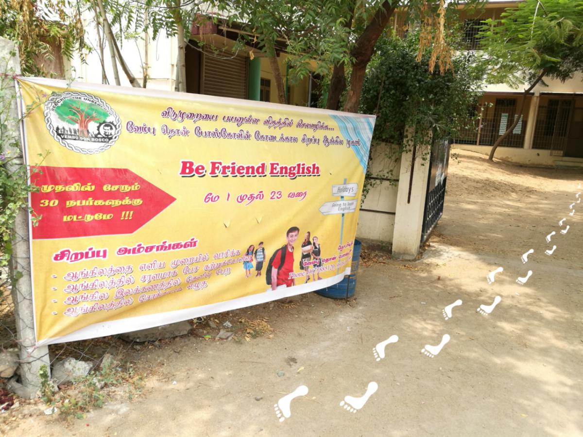 Anglistix im Morgenland - Benni in Indien