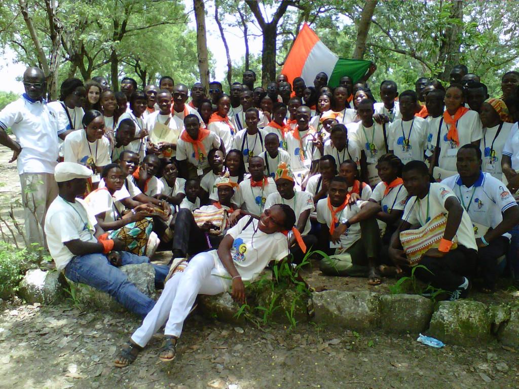 Delegation der Elfenbeinküste