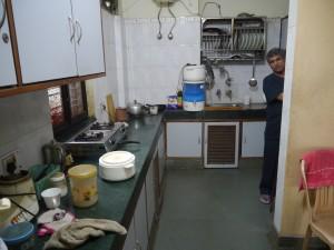 Die Kueche mit dem Koch