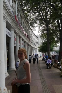 Ich am Connaught Place