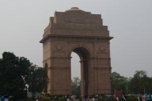 Das India Gate- drumherum ist ueberall Garten