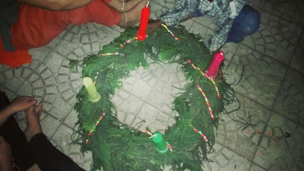 Das ist ja wie Weihnachten... - Lena in Indien