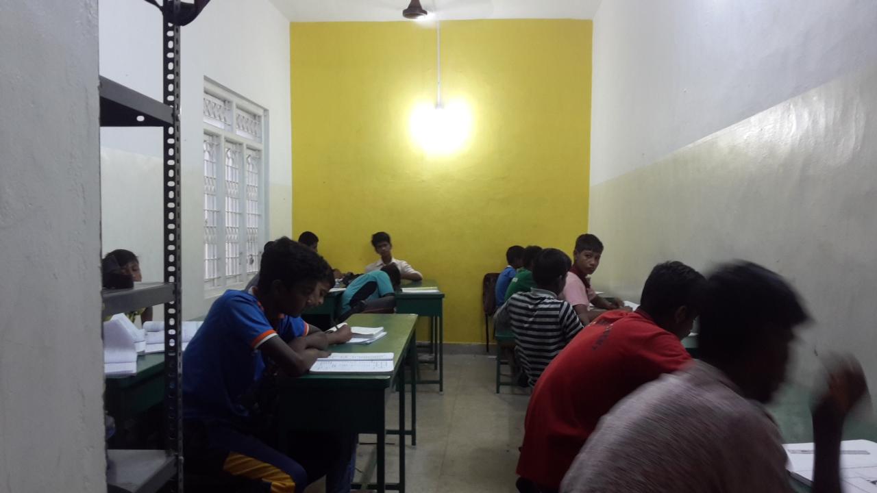 Kinder am Lernen